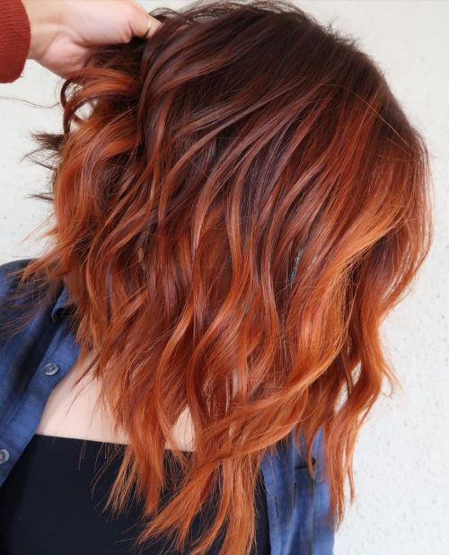 Apple Cider Hair Color for Fall
