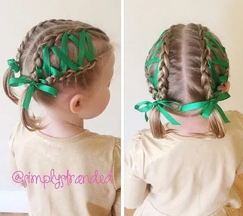 Astonishing 20 Amazing Braided Pigtail Styles For Girls Hairstyles For Women Draintrainus