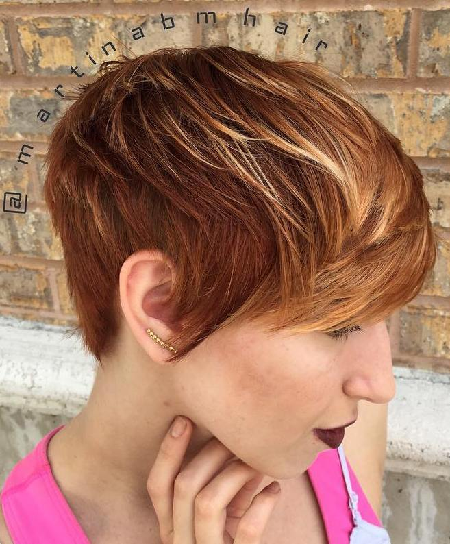 Pixie with highlights