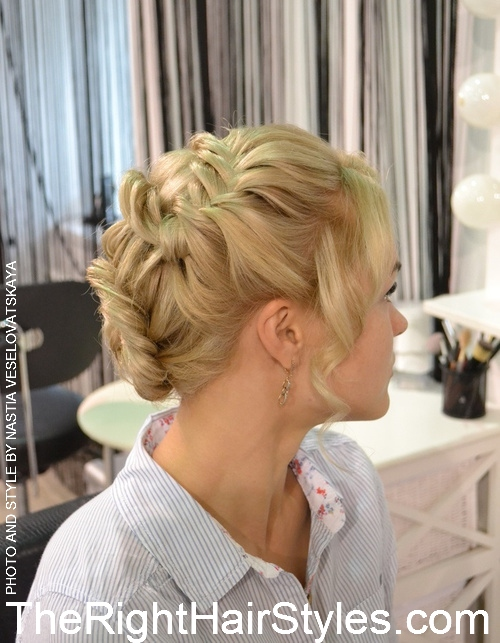 lace updo