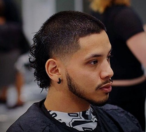 mullet for black men