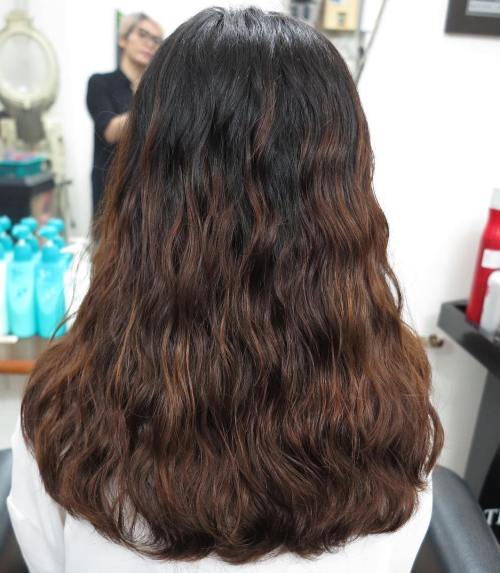 Loose Perm For Thick Brown Hair