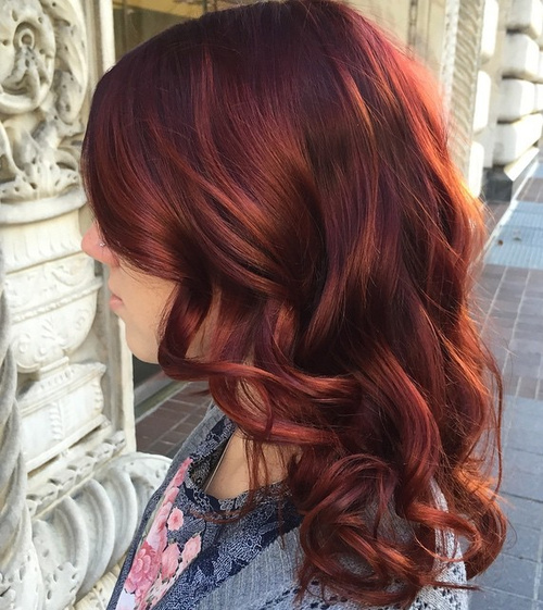 Enjoyable 50 Glamorous Auburn Hair Color Ideas Short Hairstyles For Black Women Fulllsitofus