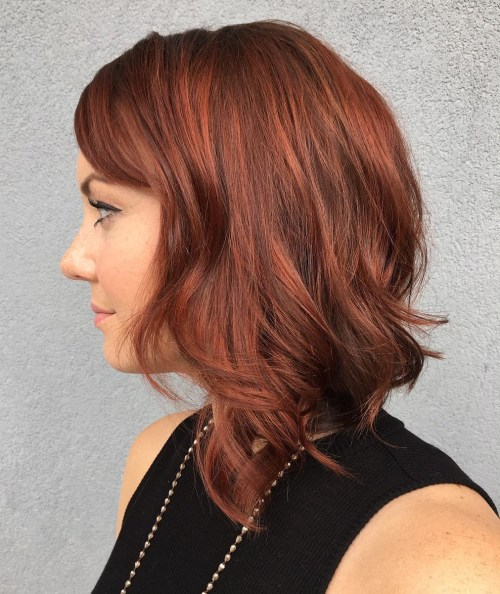 votre valeur mettre individualite couleurs cheveux auburn