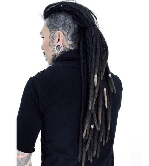 Long Mohawk Dreads For Men