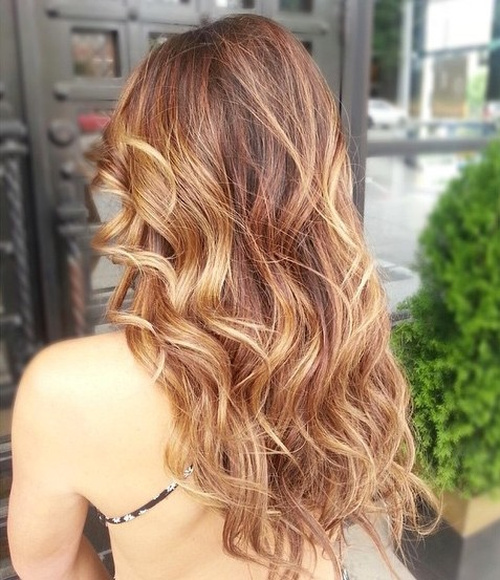 Light Golden Brown Balayage Great Pictures