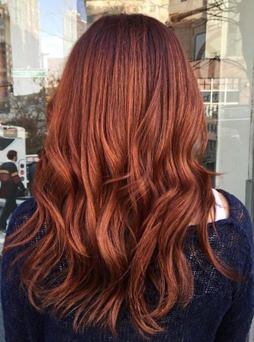 chestnut hair color idea