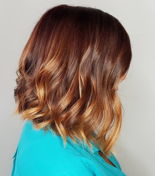 marsala and copper hair color