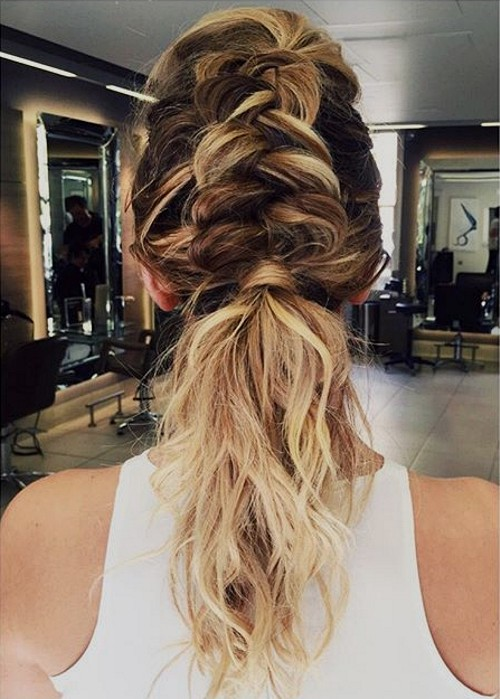 Braid With Fishtail For Frizzy Hair