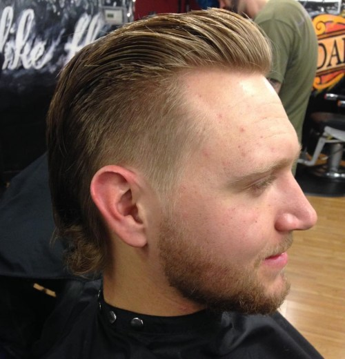 pompadour mullet hairstyle