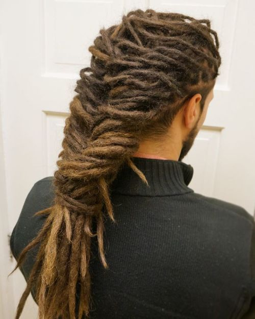 Thin Men's Dreadlocks