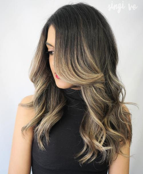 40 ash blonde hair looks youll swoon over brown hair with ash blonde highlights pmusecretfo Images