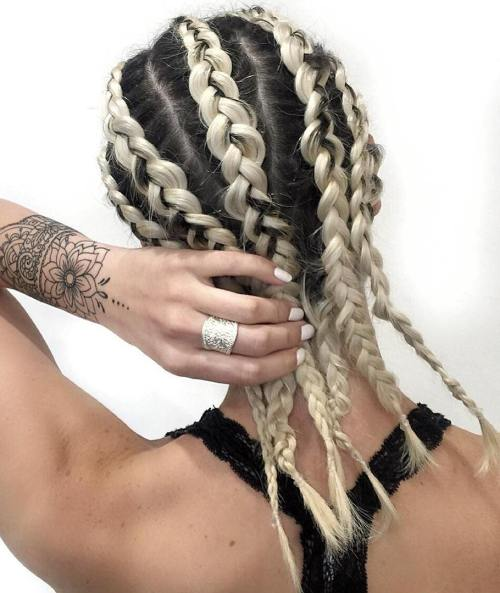 Braided Sporty Hairstyle