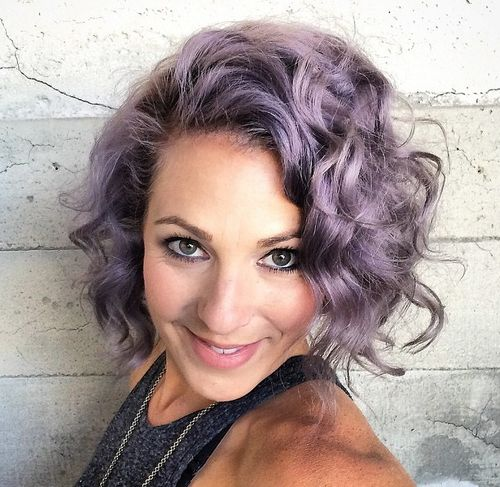 light ash purple hair color