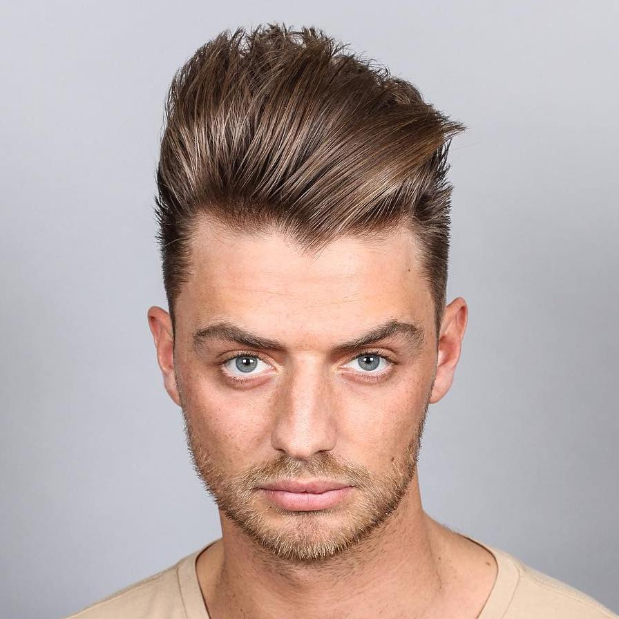 Edgy Quiff Hairstyle