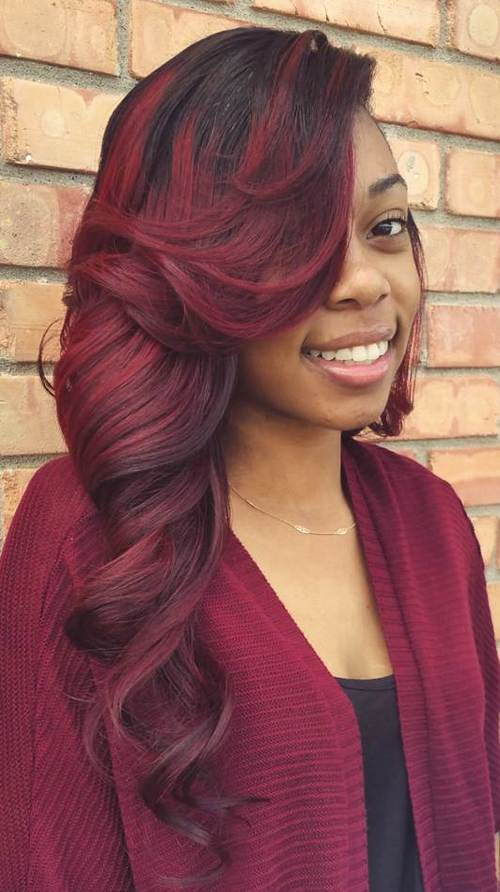 sew hot 30 gorgeous sew-in hairstyles