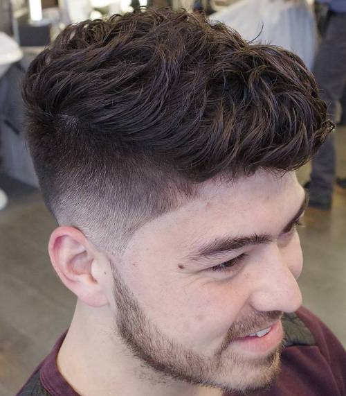 layered quiff haircut