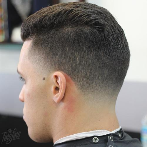 Side Part Shaven Sides Hairstyle Galleries For 2016 2017