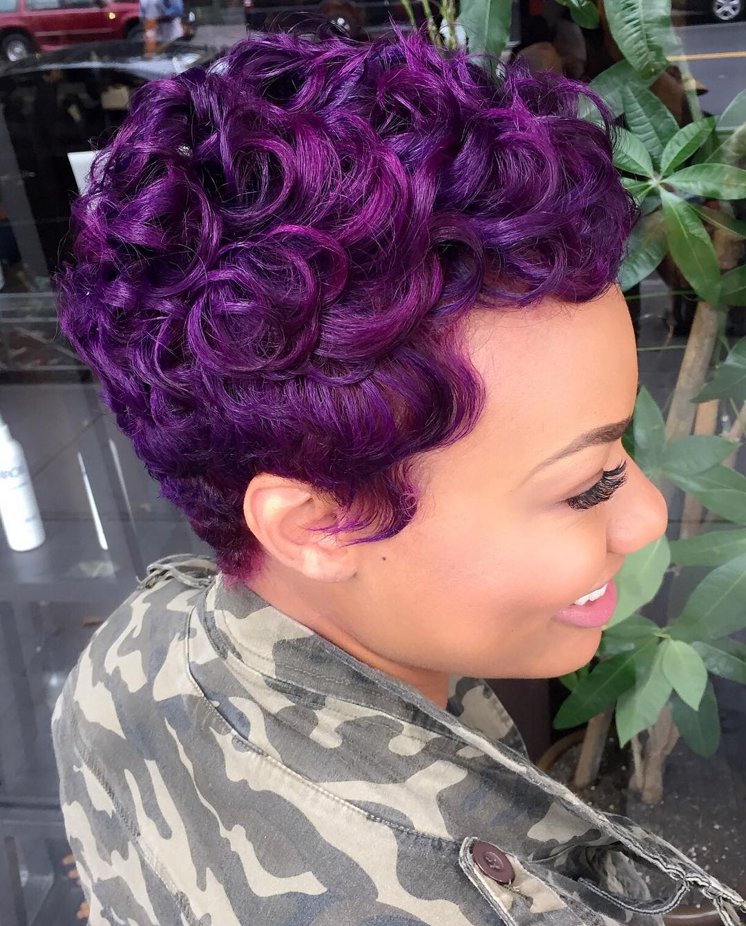 versatile ideas of purple highlights