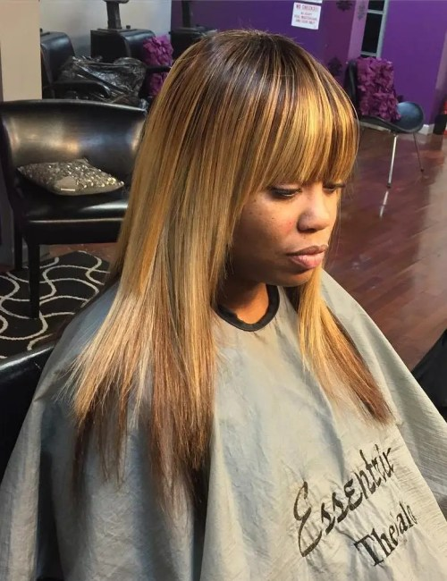Marvelous Sew Hot 30 Gorgeous Sew In Hairstyles Short Hairstyles For Black Women Fulllsitofus