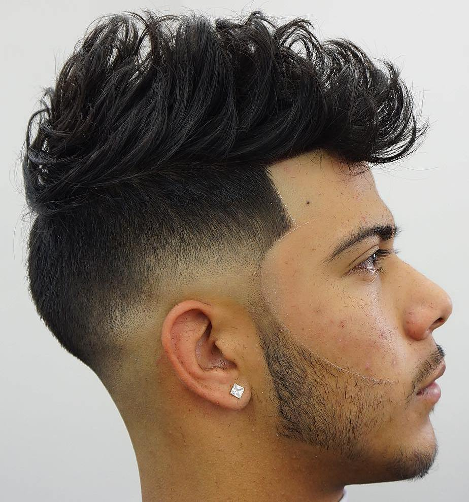 Spiky Quiff Mohawk For Men