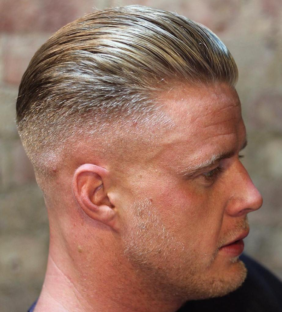 slicked back men\u0027s hairstyle
