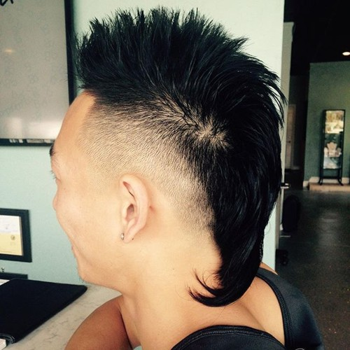 Mohawk for Asian men