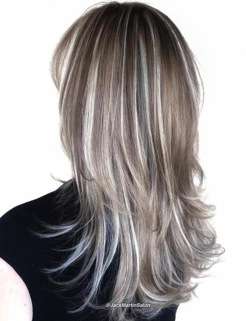 40 Blonde Balayage Looks: 40 Hair Сolor Ideas With White And Platinum Blonde Hair