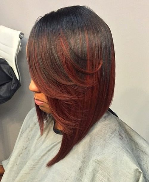 Pleasant Sew Hot 30 Gorgeous Sew In Hairstyles Short Hairstyles For Black Women Fulllsitofus