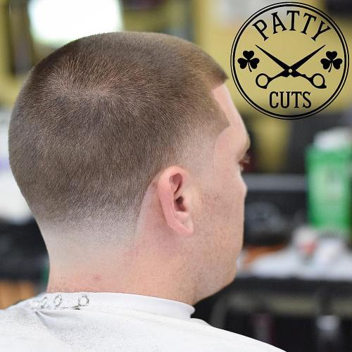 Temple And Nape Fade Haircut