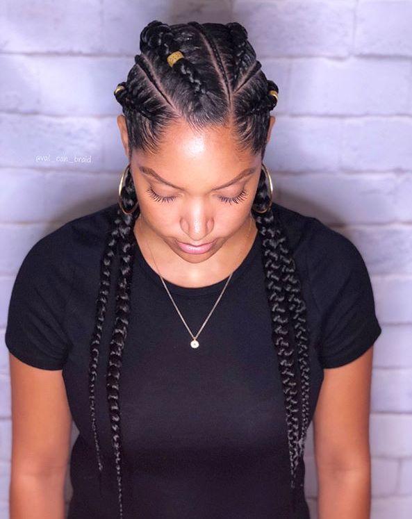 60 Inspiring Examples of Goddess Braids