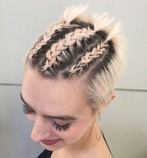 40 Gorgeous Braided Hairstyles For Short Hair Tutorials