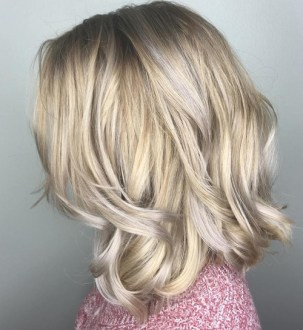 The Best Winter Hair Colors You ll Be Dying for in 2018 golden blonde hair with silver highlights