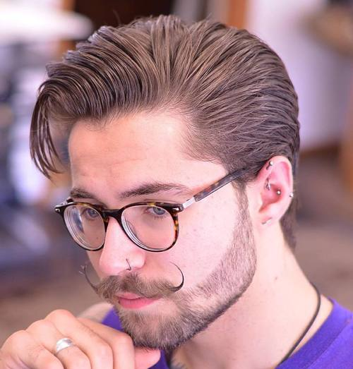 Surprising 20 Stylish Men39S Hipster Haircuts Hairstyles For Men Maxibearus