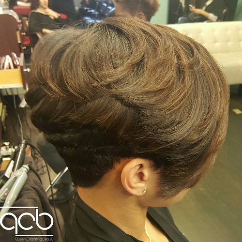 wedge haircuts for fine hair 20 wonderful wedge haircuts 5989 | 17 short wedge haircut for thick hair