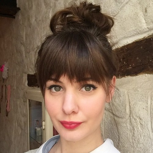 Prime 15 Easy And Pretty Top Knot Hairstyles Short Hairstyles Gunalazisus