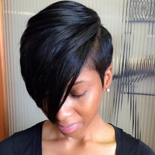 Super 20 Short Weave Hairstyles You Can Easily Copy Short Hairstyles For Black Women Fulllsitofus