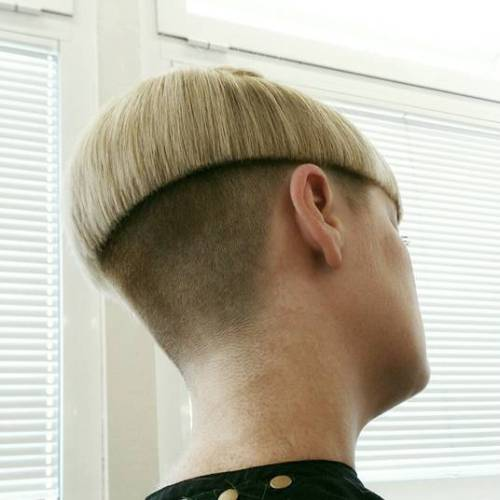 Bowl Cut With Undercut