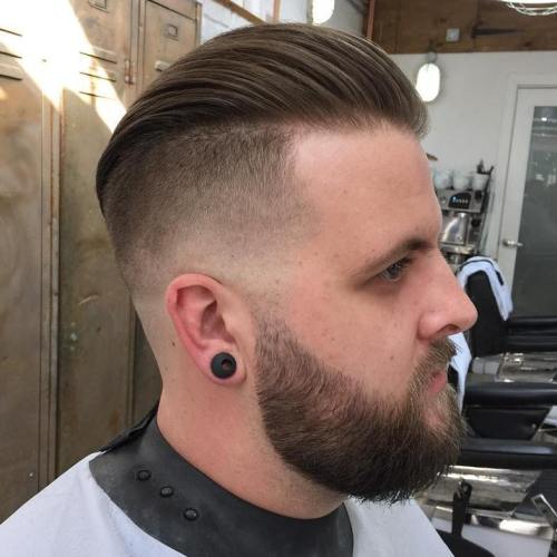 Undercut With Fade And Long Top