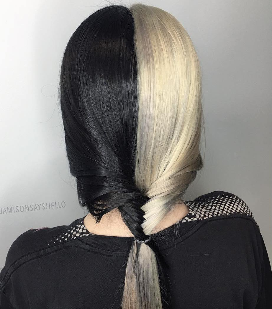 Half Blonde Hair