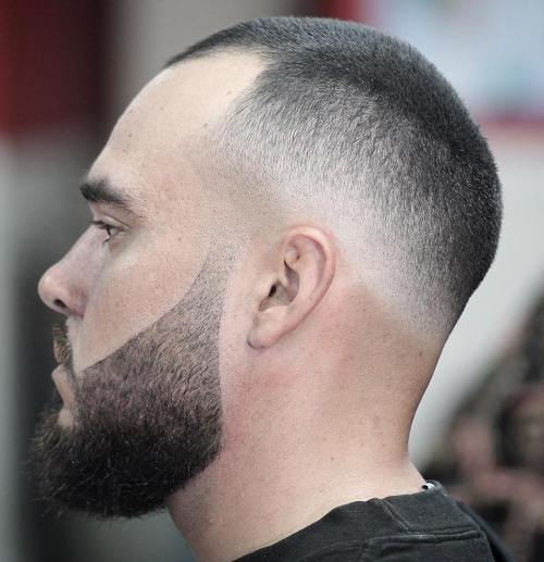 Men's Extra Short Haircut With Fade