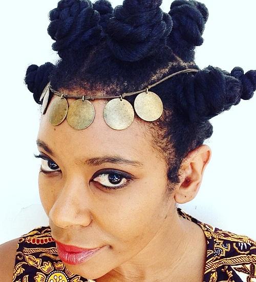 Bantu Knots For Longer Hair