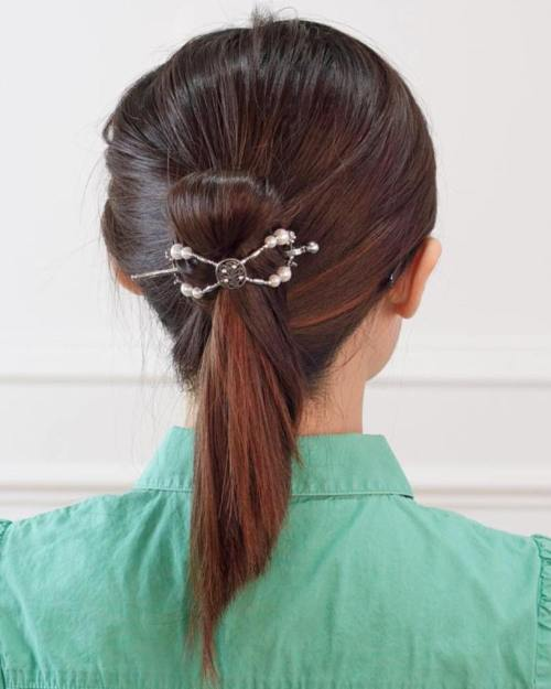 Fancy Ponytail Hairstyle