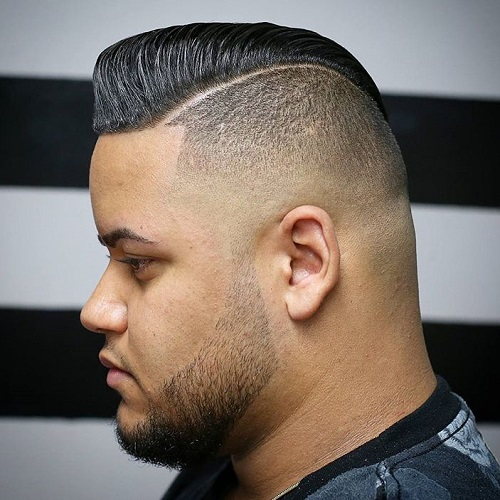 Mohawk Pompadour Hairstyle For Men