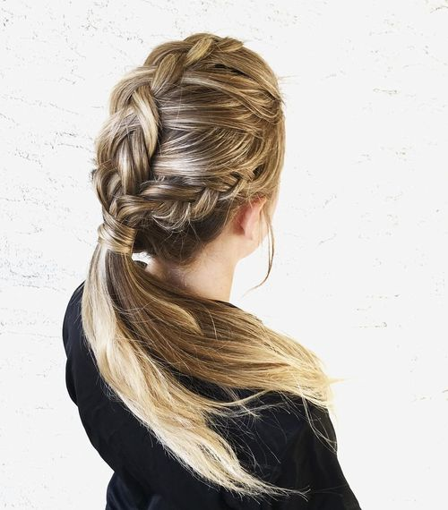 Peachy 20 Stylish And Appropriate Hairstyles For Work Hairstyles For Women Draintrainus