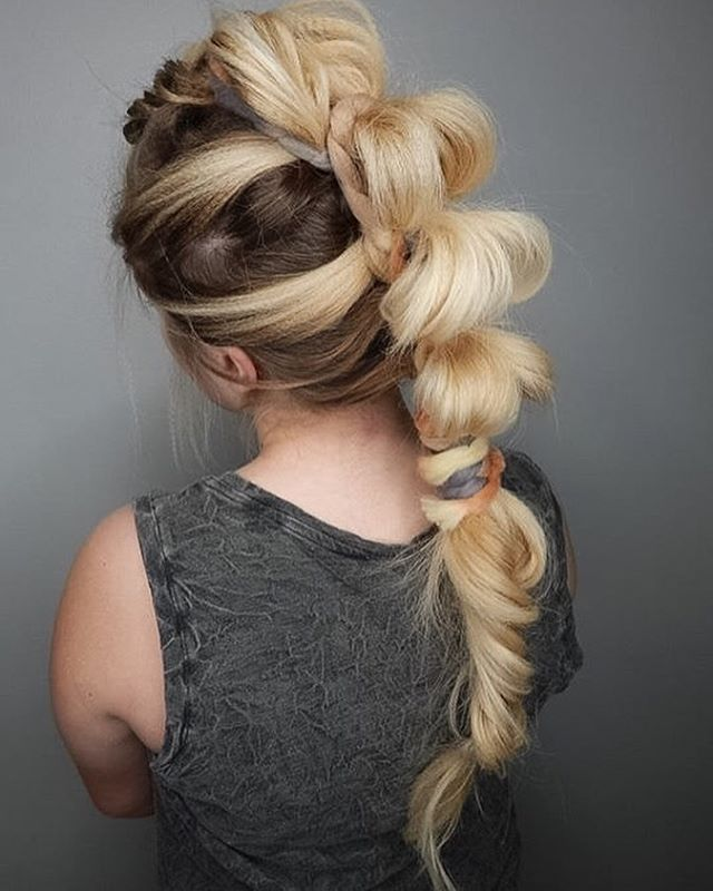 Mohawk Ponytail Braid