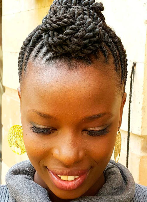 flat twists hair styles 20 flat twist hairstyles for this year 3248