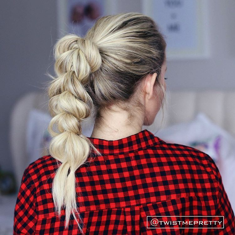 Ponytail Into Pull Through Braid