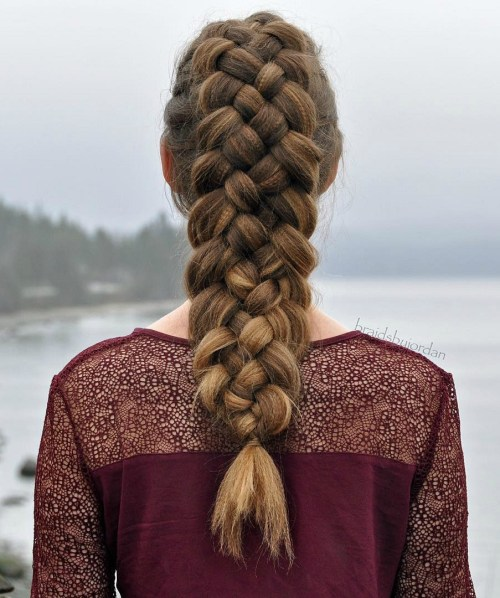 Strand Braid From Ponytail