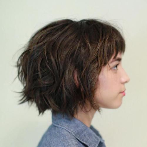 Wavy Bob For Thick Hair